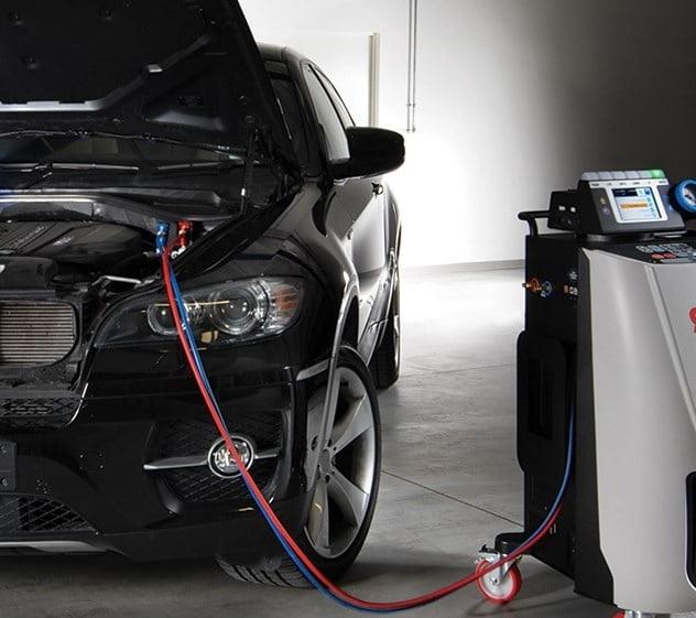 Ремонт и заправка кондиционера BMW