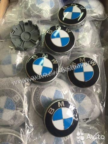 Значок эмблема колпак заглушка на диск бмв BMW