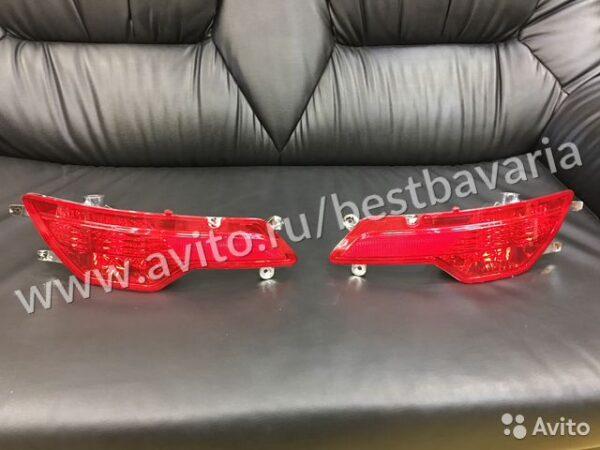 Фонари катафоты задние противотуманки BMW X6 E71