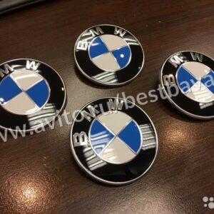 Значок эмблема на крышку багажника задний бмв BMW