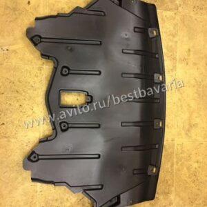 Защита двигателя экран моторного BMW X5 E70 LCI