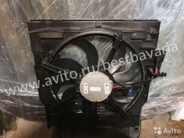 Кожух вентилятора в сборе бмв Х5М Х6М Е70 е71