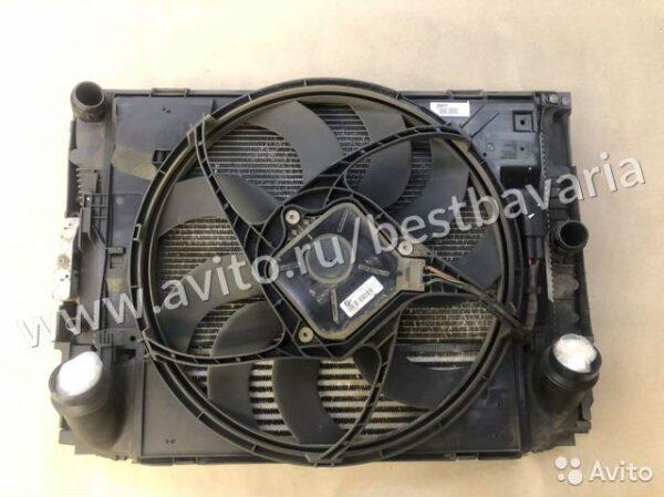 Кассета радиатора в сборе бмв Ф20 Ф30 Н13 BMW N13
