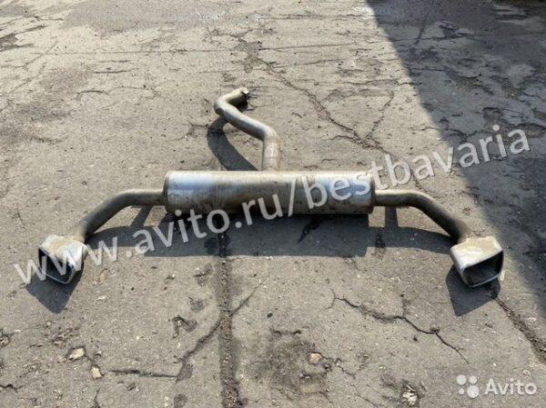 Выхлопная система М M BMW X5 F15 бмв Х5 Ф15 4.0D