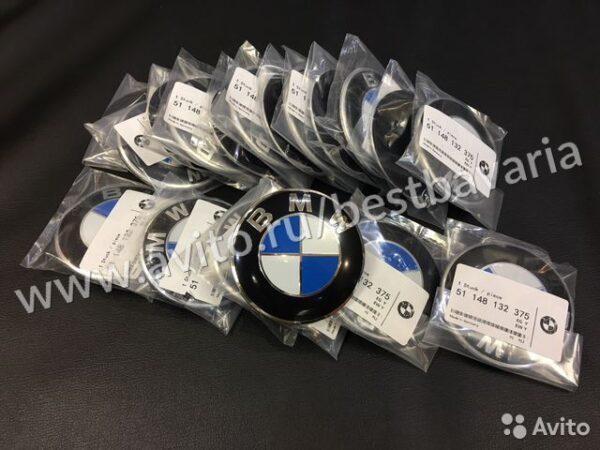 Значок эмблема на капот бмв BMW E серия F серия