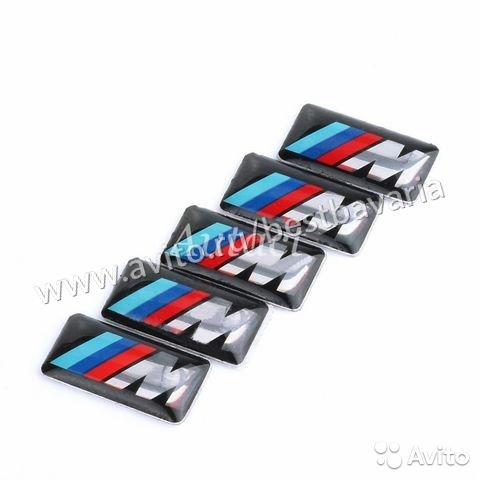 Значок эмблема М наклейка на диск руль бмв BMW